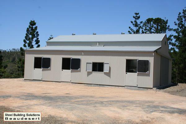 Steel Sheds SBS - American Barn